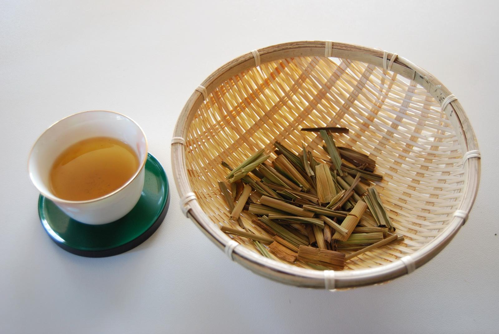 マコモ茶と茶葉 small
