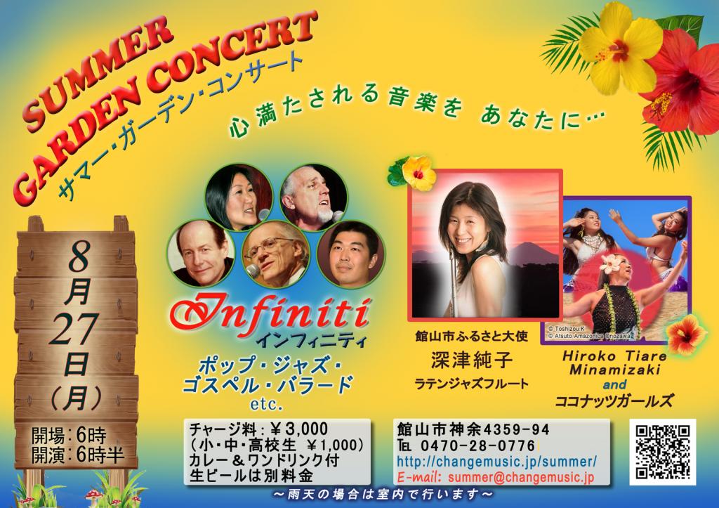 SummerGardenConcert2018 Poster